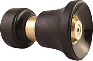 Dradco Heavy Duty Brass Fireman Style Hose Nozzle - Fits All Standard Garden Hoses - Best High Pressure Sprayer to Wash Your Car or Water Your Garden – Leak Proof - 30 Day No-Hassle Guarantee