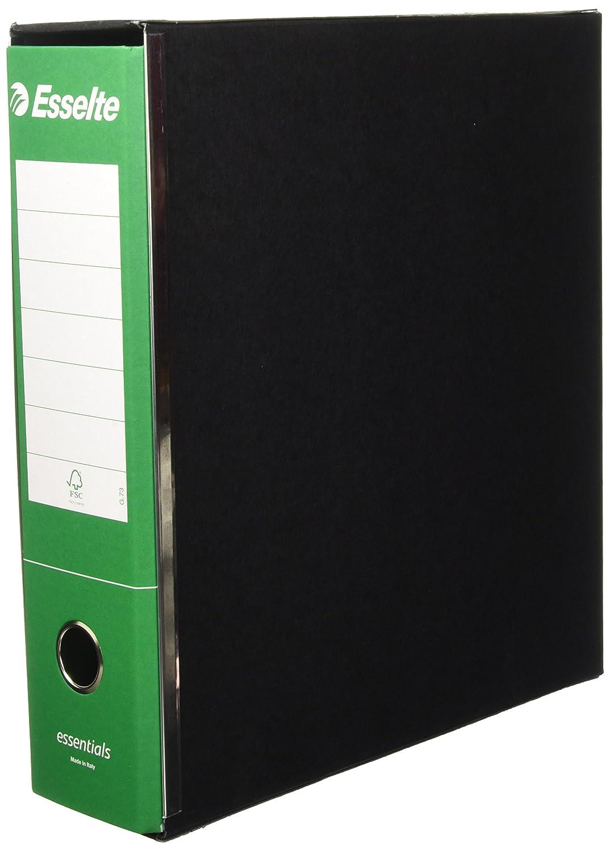 Cartone 1 pezzo Esselte Commerciale 390773180 Raccoglitore con meccanismo a leva e custodia Dorso 8 cm Verde