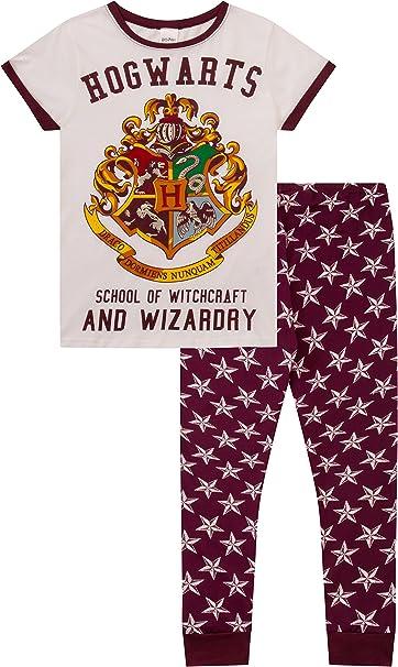 Harry Potter Hogwarts Harry Potter - Pijama para mujer Blanco ...