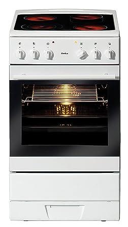Amica Standherd Shc11153w Weiss Amazon Co Uk Large Appliances