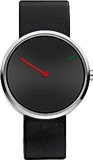 Uhr Mit Leder 32252Amazon Jacob Armband Jensen Quarz Unisex Analog zMVGSqUp