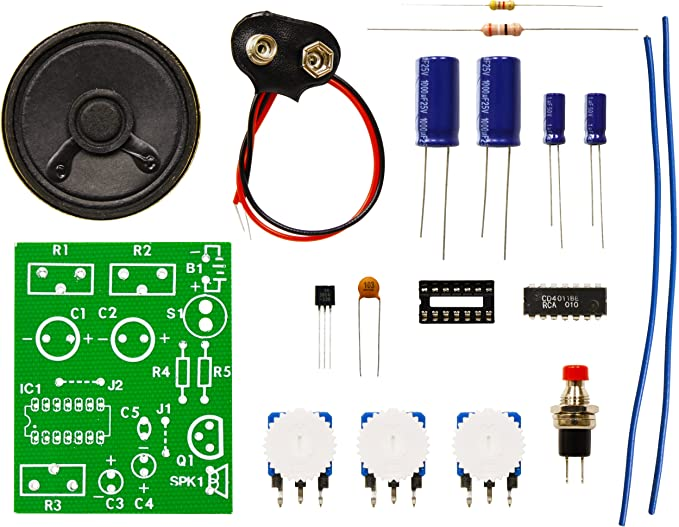 Amazon.com: Elenco Digital Bird Kit [Soldering necesario ...