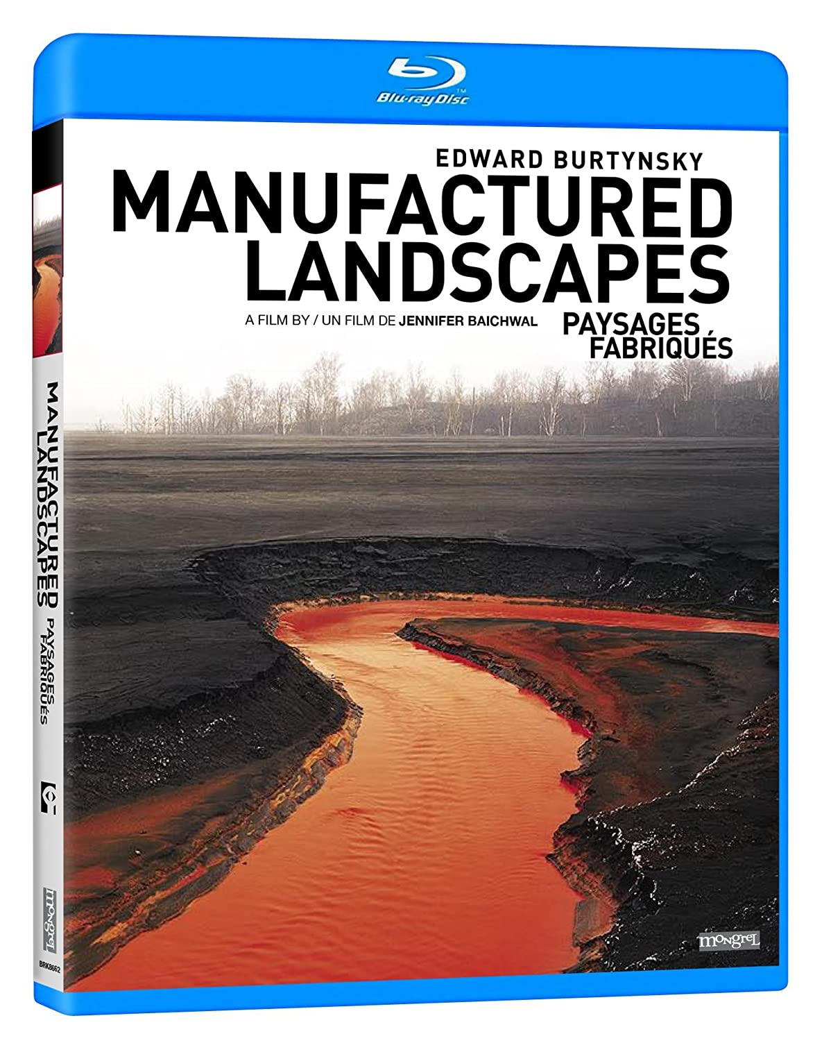 Manufactured Landscapes [Blu-ray] (Sous-titres français) Edward Burtynsky Jennifer Baichwal Mongrel Media Documentary