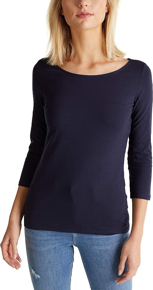 edc by Esprit 999cc1k812 Camisa Manga Larga, Azul (Navy 400), X-Small para Mujer: Amazon.es: Ropa y accesorios