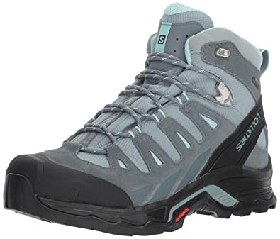 5fc3d90f7aee Salomon Women s Quest Prime GTX W Backpacking Boot Lead Stormy  Weather Eggshell Blue 5