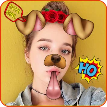 Amazon com: Doggy Face Filter Snappy Photo - Snap Camera Photo