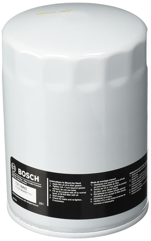 Bosch 72116 WS taller motor filtro de aceite: Amazon.es ...