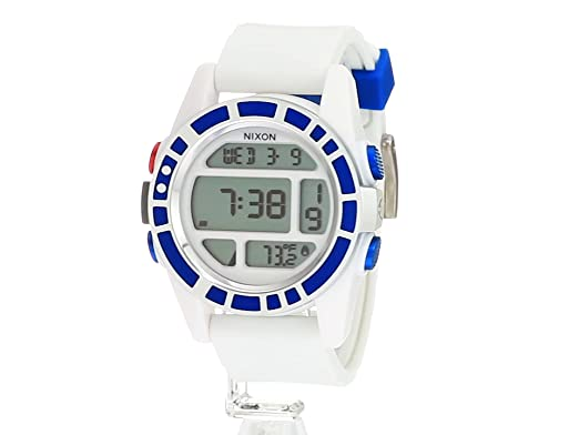 Nixon Mens Unit SW, R2D2 Japanese Automatic Rubber and Silicone ...