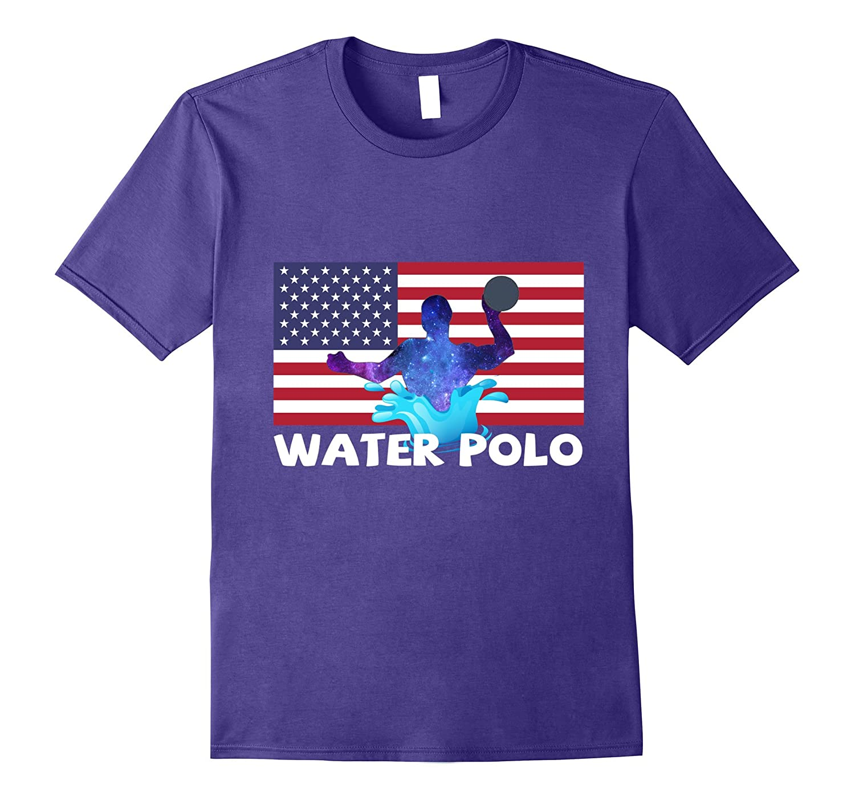 Water Polo American Flag T-shirt-ANZ