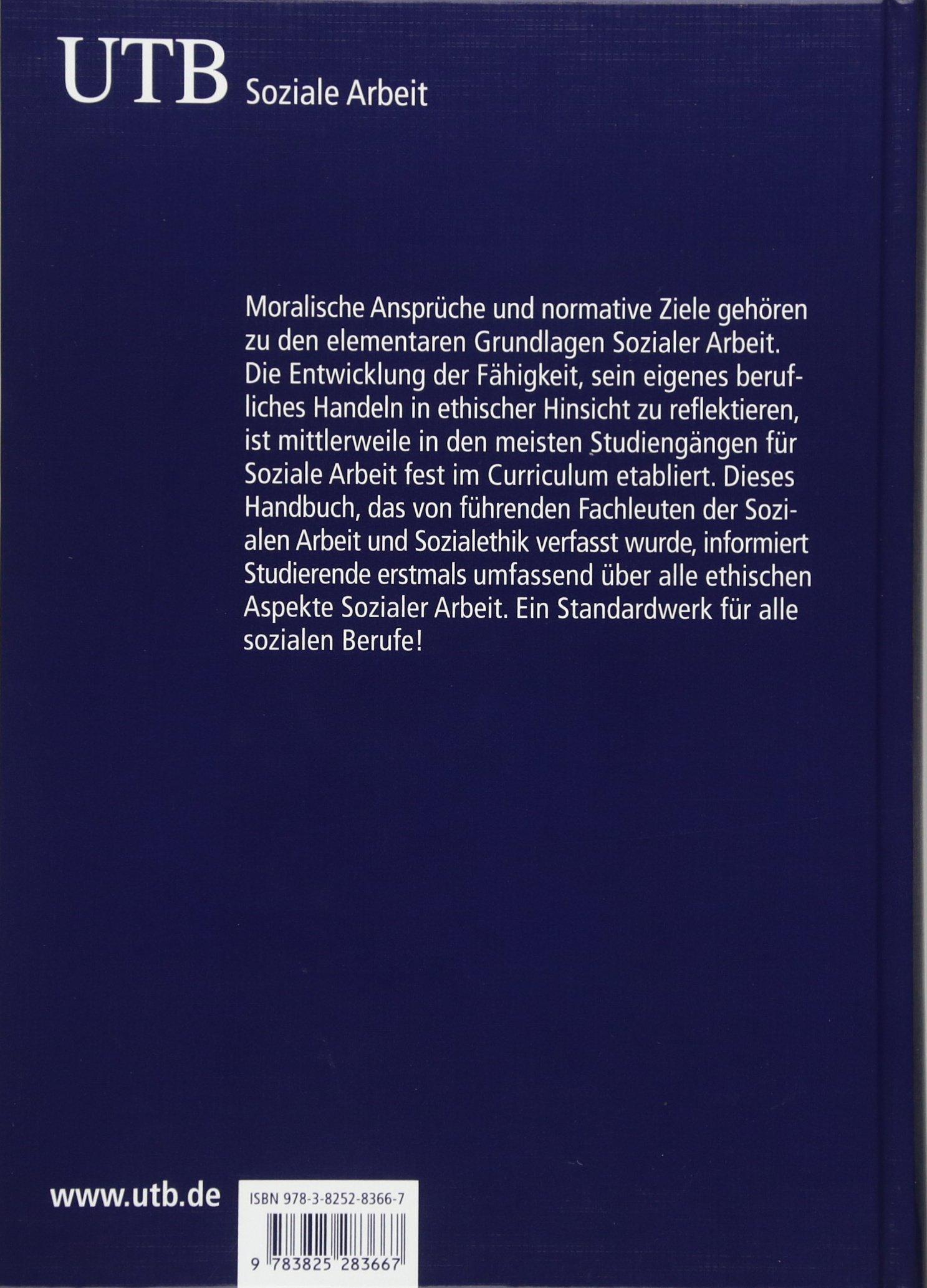Ethik Sozialer Arbeit: Ein Handbuch: Amazon.de: Andreas Lob Hüdepohl,  Walter Lesch: Bücher