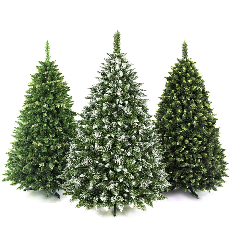 AmeliaHome 07850 250 cm Künstlicher Weihnachtsbaum PVC Tannenbaum Christbaum Kiefer Lemmy Weihnachtsdeko