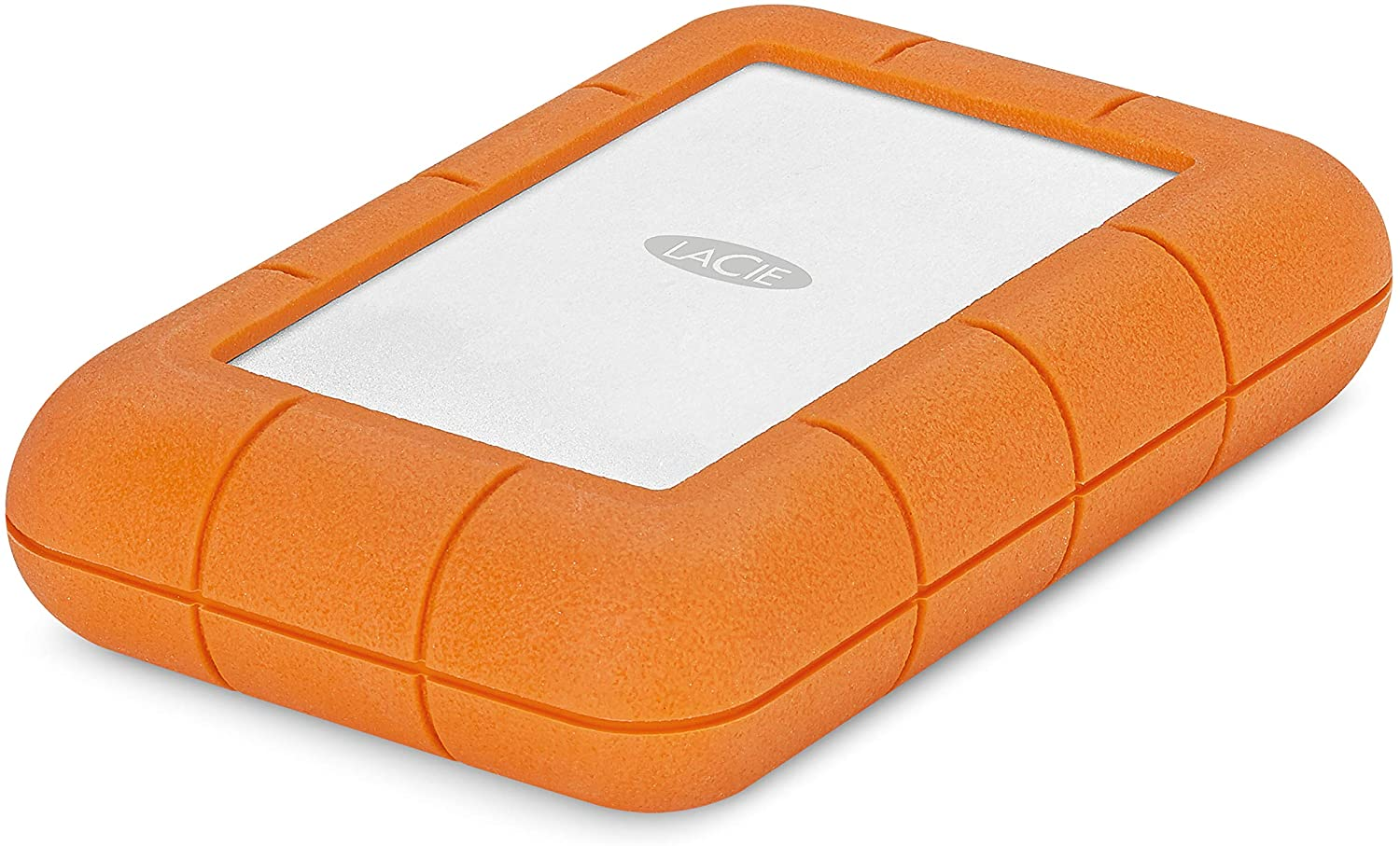 LaCie Rugged Raid Pro 4TB External Hard Drive Portable HDD – USB 3.0 Compatible – with SD Card Slot, Drop Shock Dust Water Resistant, for Mac and PC Computer Desktop Workstation Laptop (STGW4000800)