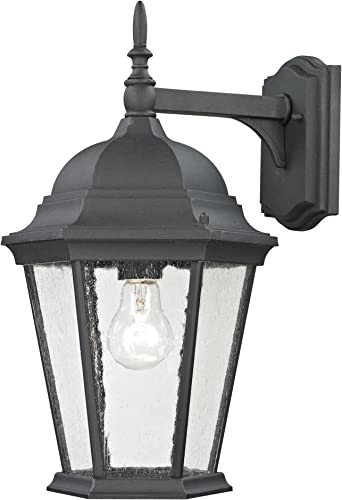 Elk Lighting 8101EW 65 Thomas Lighting Sconce, Black