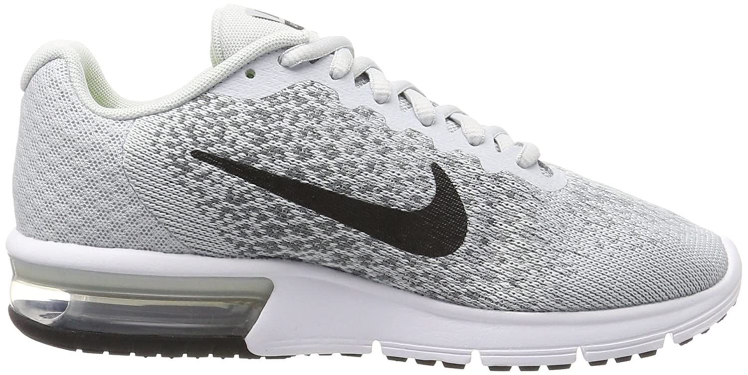 NIKE Men's Air Max Sequent 2 Running Shoe Platinum/Black/Cool B01H4XDZUC 8 B(M) US|Pure Platinum/Black/Cool Shoe Grey/Wolf Grey 7cb5ca