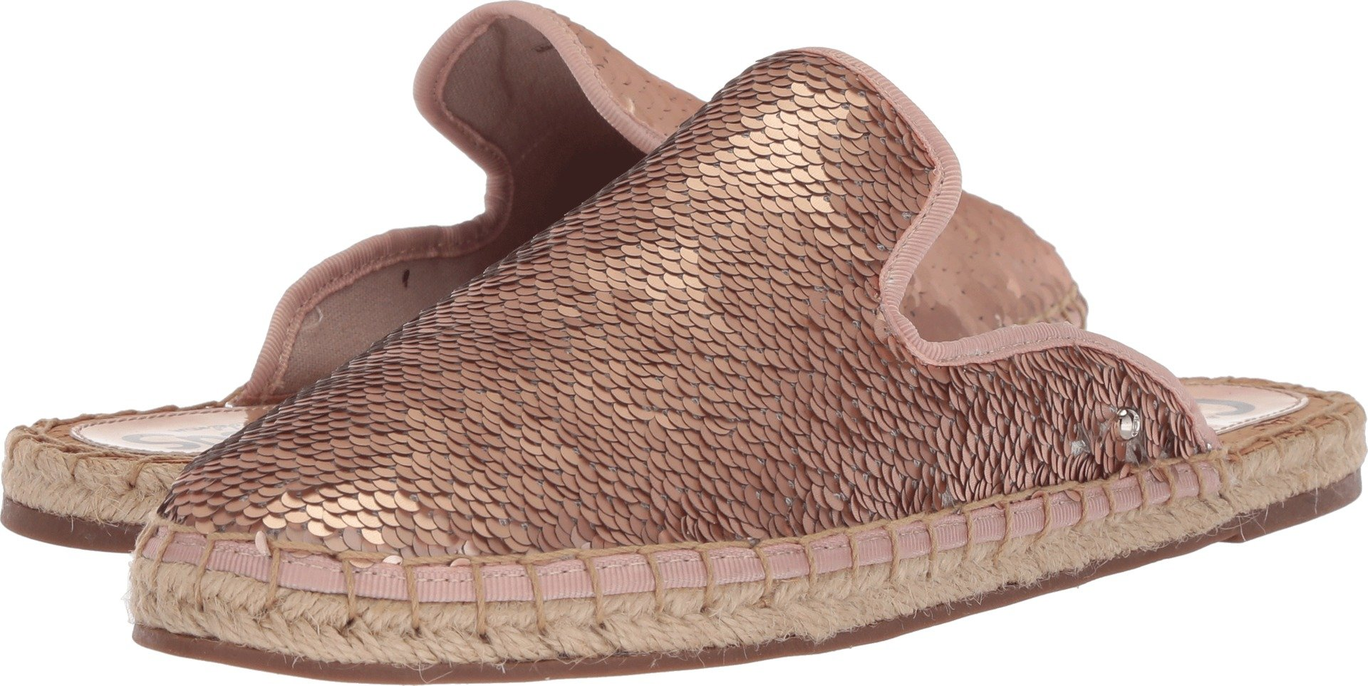 Circus by Sam Edelman Women's Leanne Moccasin, Rose Gold/Silver, 7.5 M US