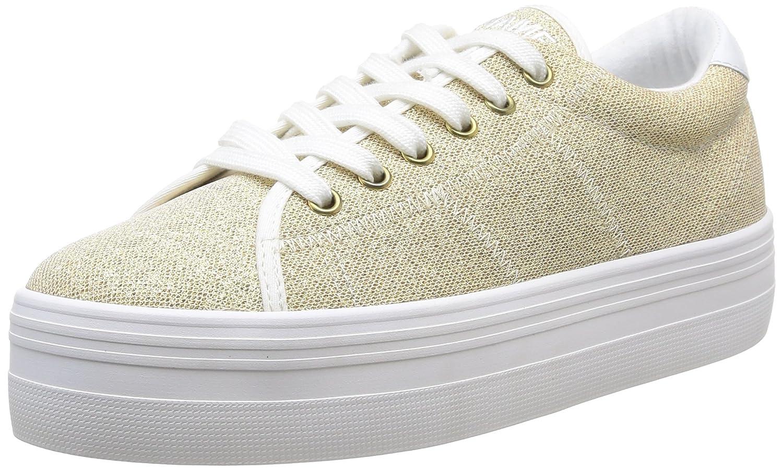 Unbekannt Plato Damen Sneaker - Gold - Sneaker Or (Gold/Fox/Weiß) 8e5d2c
