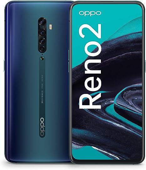 OPPO 5973249 Reno 2 8/256 GB Ocean Blue Dual-Sim: Amazon.es ...