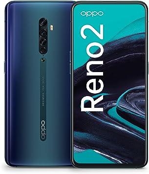 Oppo Reno 2 - Smartphone 256GB, 8GB RAM, Dual Sim, Ocean Blue [Version Extranjera]: Amazon.es: Electrónica