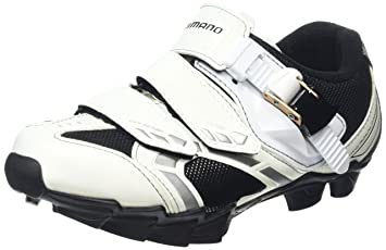 SHIMANO MTB Zapatillas para mujer SPD WM 63 W, todo el año, mujer, color blanco, tamaño 40: Amazon.es: Deportes y aire libre