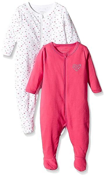 NAME IT Pijama para Beb/és Pack de 2