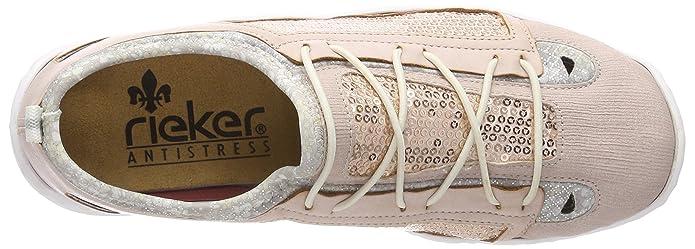 Rieker Sneaker L2571-31 rose//pink