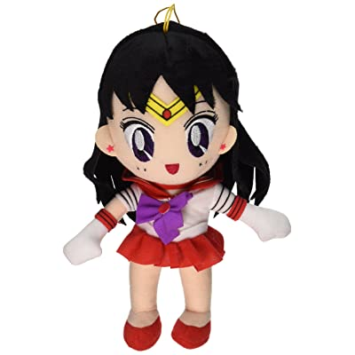 "Great Eastern GE-7507 Sailor Moon 8"" Plush Doll, Sailor Mars: Toys & Games"