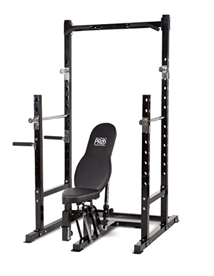 Amazoncom Marcy Platinum Multi functional Power Rack and Weight