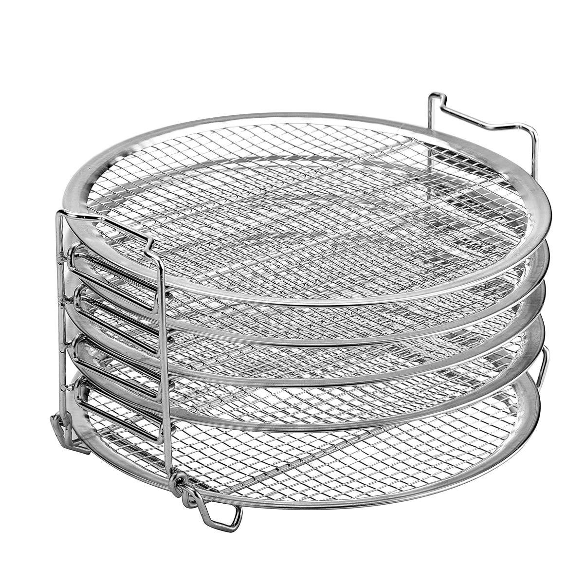 Dehydrator Stand For Ninja Foodi Accesories, 6.5 qt & 8 qt, Food Grade Stainless Steel (6.5&8) by Kispog
