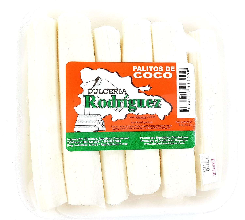 Amazon.com : Dominican Sweet Coconut Sticks Dessert Palitos de Coco Dulce 3 Pack : Grocery & Gourmet Food