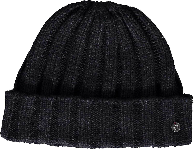Fraas Bonnet Manchette pour Homme Taille Unique pour la Plupart des Chapeaux dhiver Bonnet en Tricot Unicolore de Haute qualit/é