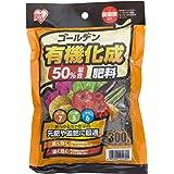 アイリスオーヤマ 肥料 ゴールデン 有機 化成肥料 7-5-6 300g