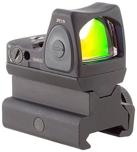 Trijicon RM06-34 RMR 3.25 MOA Adjustable LED Red Dot Sight with RM34 Tall Picatinny Mount