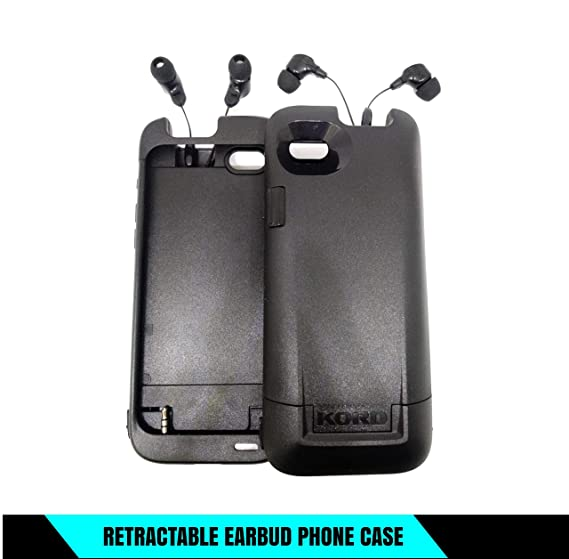 """new products 212c1 714e8 Kord Cell Phone Case with Retractable Earbuds Compatible iPhone 6/6S  (4.7"""")