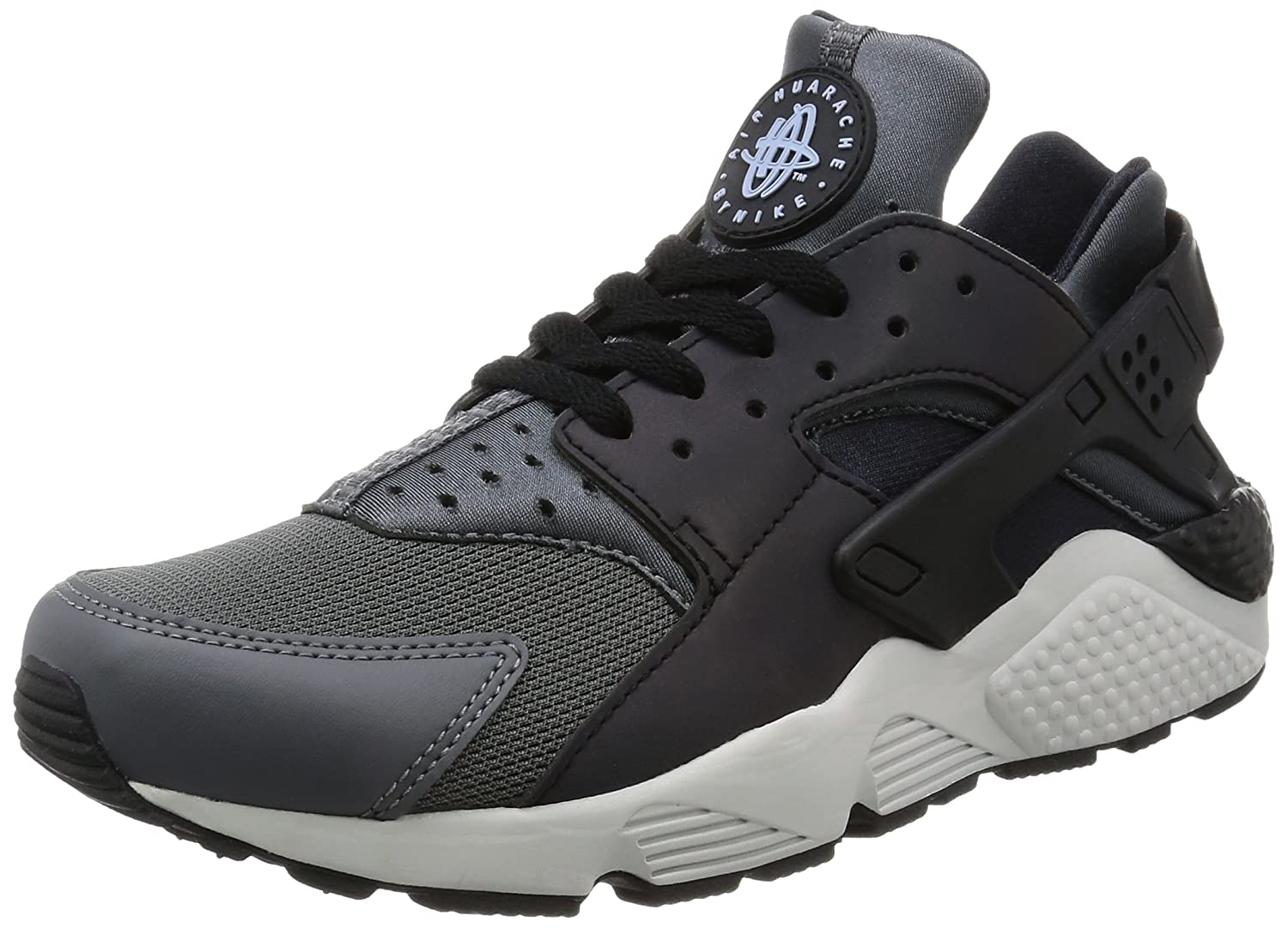 new styles 0bfda 2f565 Nike Men's Air Huarache Run PRM Dark Grey/Black/Black Running Shoe