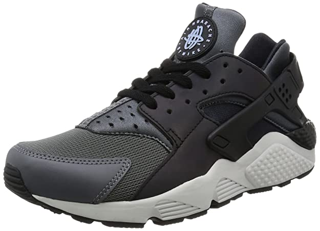 timeless design d471f c90b9 Amazon.com   Nike Men s Air Huarache Run Dark Grey Black Mid-Top Running  Shoe - 10.5M   Road Running