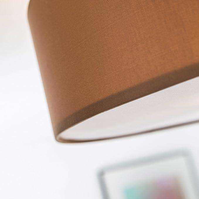 Moderne Deckenleuchte mit Textilschirm, 3-flammig, Ø 60 cm, 3x E27 ...