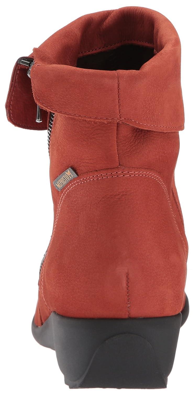 Seddy Womens Nubuck Rust Mephisto Boots Tc3KlF1J