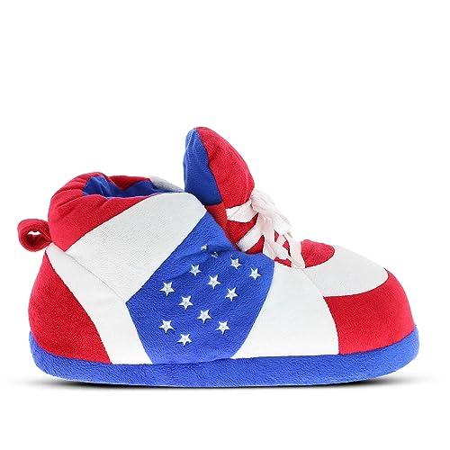 Zapatillas de casa Originales y Divertidas de Hombre y Mujer - Patriotic - 29/33