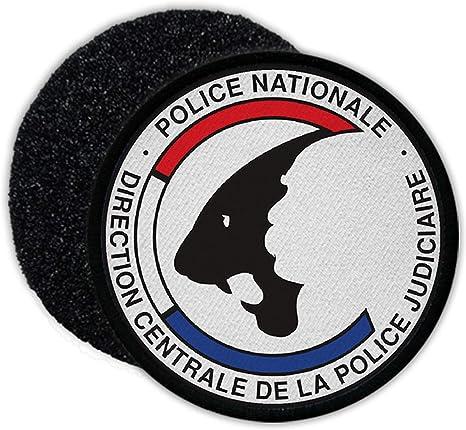 Copytec Patch Dcpj Direction Centrale De La Police Judiciaire Justiz Polizei 33899 Küche Haushalt