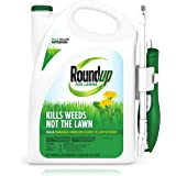 Roundup For Lawns1 Ready to Use - All-in-One Weed Killer for Lawns, Kills Weeds - Not the Lawn, One Solution for Crabgrass, D
