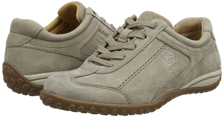 Gabor 33) Damen Comfort Sneakers, Grau Braun (Visone 33) Gabor 337882