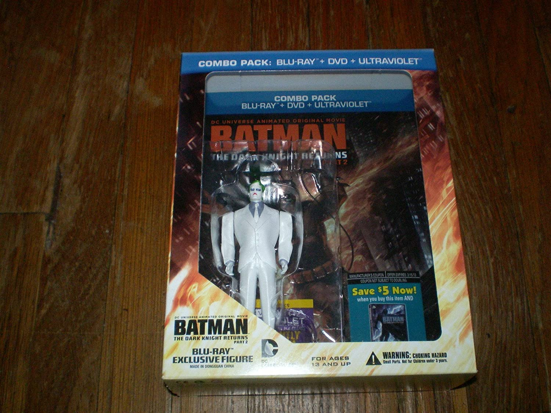 Batman: The Dark Knight Returns Part Two USA Blu-ray: Amazon.es ...