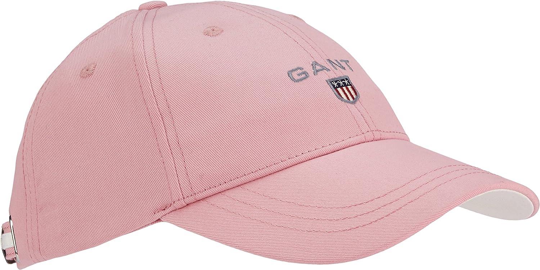 Gant Twill Cap Gorra de béisbol, Rosa (California Pink 637), Talla ...