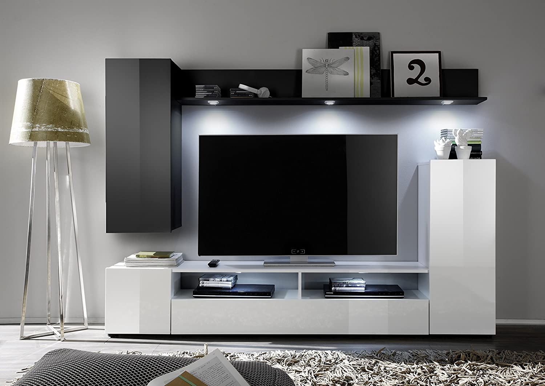 wohnwand fr kleine rume latest wohnwand borgia with. Black Bedroom Furniture Sets. Home Design Ideas