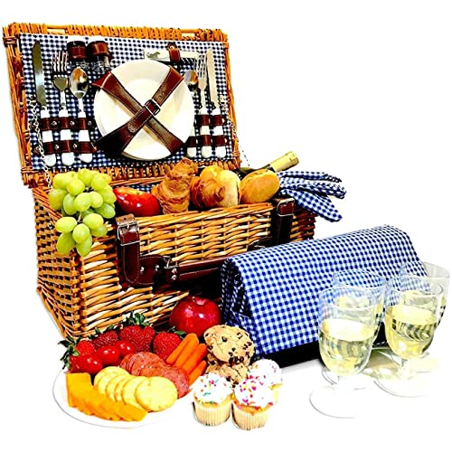Small Picnic Basket: Amazon.com