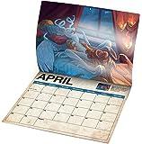 2018 Dragon Sex Wall Calendar, White Elephant Gift, Hilarious Gag Gift
