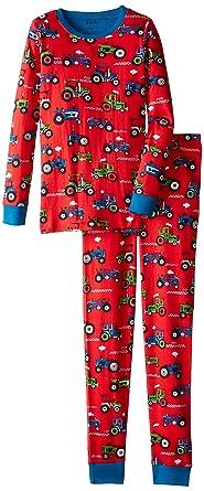 ce29fa2143 Hatley Boy s Pj AOP-Farm Tractors Pyjama Sets  Amazon.co.uk  Clothing