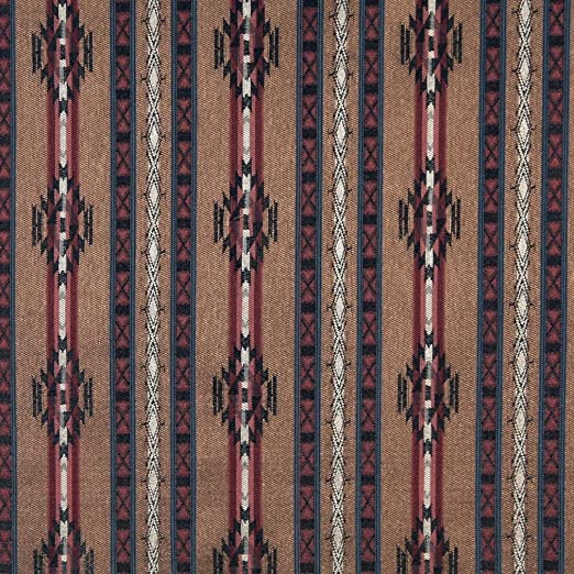Southwest Stripe Upholstery Fabric by the Yard Woven