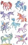 Avery 53148 Children Sticker , Unicorns , 18 stickers