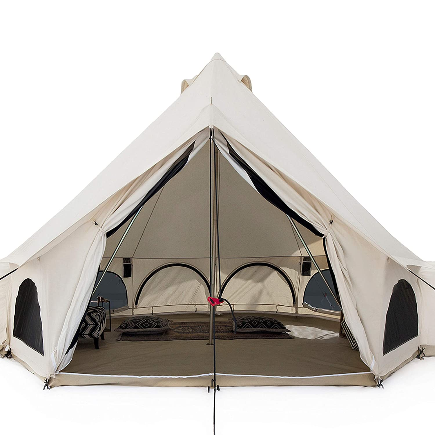 White Duck Luxury Avalon Canvas Bell Tent